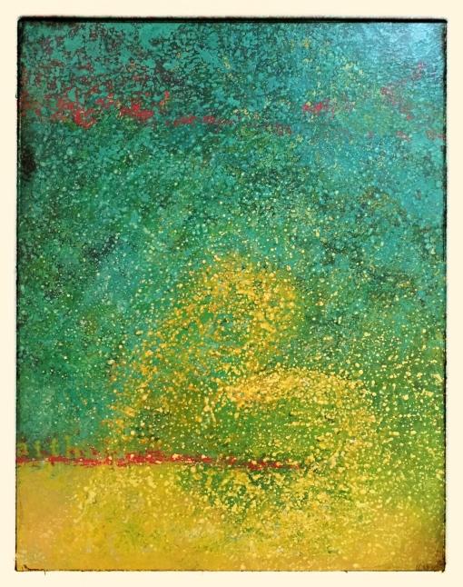 """""""faith"""" mixed medium on canvas by arifah"""